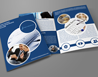 Company Brochure Bi-Fold Template Vol.10