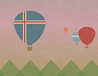 Travel Poster - Iceland
