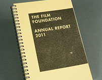 The Film Foundation Annual Report - Remodel