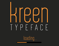 Kreen Typeface (In progress)