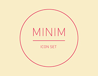MINIM - Icon Set