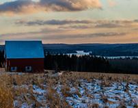 Madawaska Lake Winter