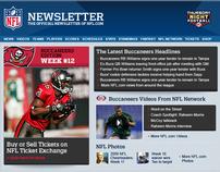 NFL 2011 Dynamic Newsletter