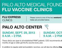 PAMF Flu Information Poster