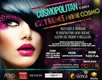Producción de EXTREME MAKE COSMO de Cosmopolitan