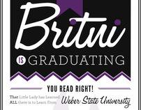 Graduate Announcement