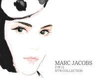 MARC JACOBS X J.T ILLUSTRATION