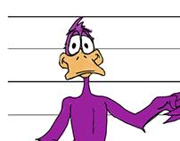 Veggie Duck Character