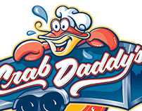 Crab Daddy's logo
