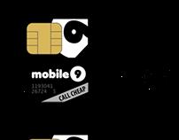 SIM card design for mobile9.de