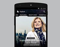 Mobile UX & UI Design