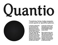 Quantio Slab Typeface