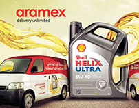 Aramex & Shell Helix Campaign