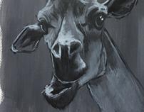 Sketch girafe