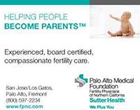 Web Banner Ads - PAMF Fertility