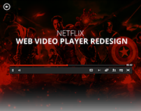 Netflix.com Video Player Redesign