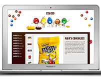 M&Ms Web Design