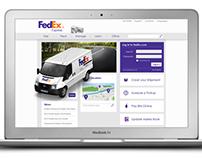 FedEx Web Design