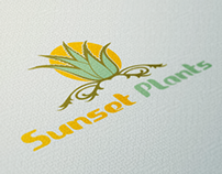 Sunset Plants - Logo Design
