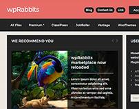 wpRabbits.com (ecommerce) website