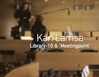 Kari Lamsa (Library-10 Helsinki) Interview