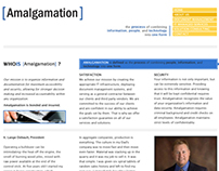 Website Design - Amalgamation
