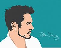 Robert Downy Jr. Doodle