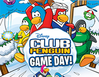 Club Penguin Game Day! - Video Game Packaging
