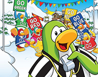 Club Penguin Game Day! - Poster / Ad
