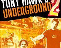 Tony Hawk's Underground 2 - Video Game Packaging
