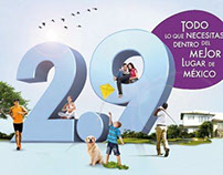 """Serena Homes from 2.9"" ad campaign"