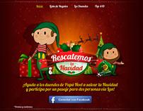 Rescatemos la Navidad - Micrositio(Game)