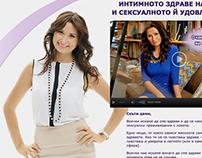 Idelyn advert for sportal wallpaper