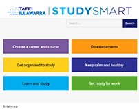 StudySmart website for TAFE Illawarra