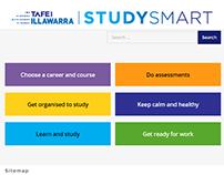 StudySmart website for TAFE Illawarra
