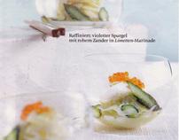 Asparagus production for Brigitte magazine