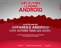 Le monde Android