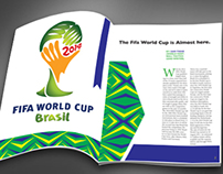 Fifa World Cup 2014 Magazine