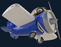 Havan Airplane element