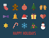 15 Christmas Icons (Freebies)