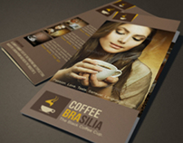 Coffee Brochure Tri-Fold | Modern Design