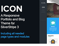 Icon - Theme with Page types for SilverStripe 3