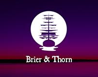 Brier & Thorn logo design
