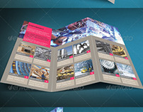Modern & Corporate Trifold Brochure