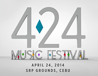 424 Music Fest Web/App Design