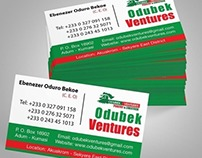 Odubek Business Card
