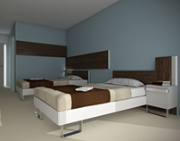 'Design frei' - furniture for hotel rooms and apartment