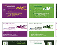 Solid Business Card Designs
