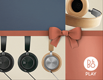 Media banners for Bang & Olufsen