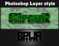 Circuit Photoshop Layer Style